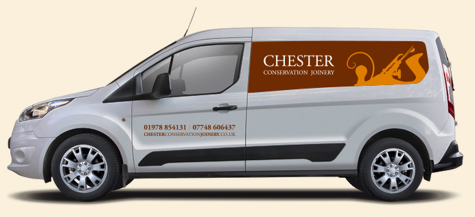 Chester Conservation Joinery Van